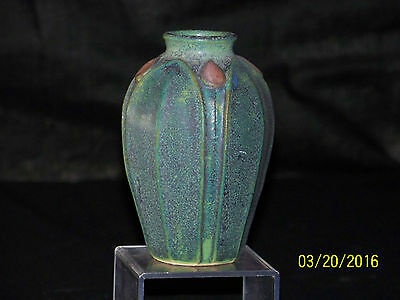 Jemerick Studio American Arts & Crafts Style Art Pottery Vase