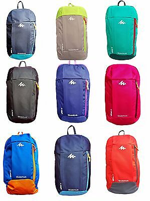Quechua Small Lightweight Hiking Camping Outdoor Backpack Rucksack 10 L School