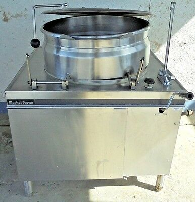 """""""MARKET FORGE MT25"""" COMMERCIAL  DIRECT STEAM 25gal. STEAM JACKETED KETTLE"""