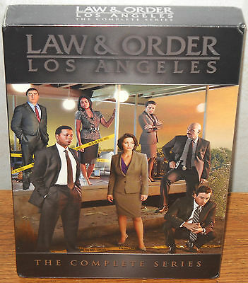 Law & Order: Los Angeles - The Complete Series (DVD, 2011, 5-Disc Set) BRAND NEW