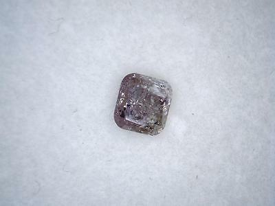 0.22 Ct Pretty Octagon Natural AAA Fancy Pink Diamond