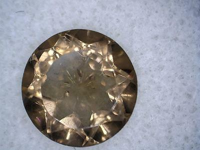 Smoky quartz round gem 2.29 carats