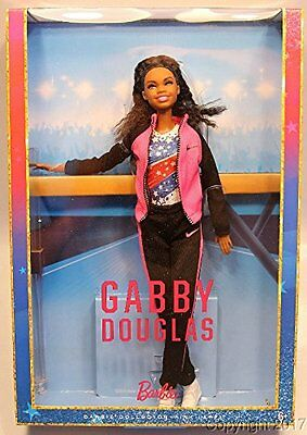 Gabby Douglas Collector Barbie Doll - NEW & SEALED! 2017