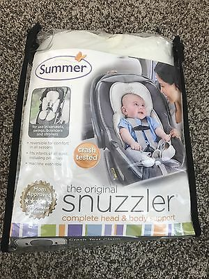 Summer The Original Snuzzler Complete Head and Body Support, Ivory Crash Tested
