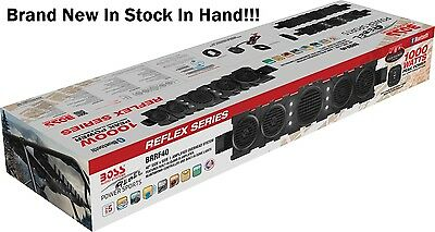 "Boss Audio BRRF40 40"" 1000 Watt Bluetooth Weatherproof Stereo Soundbar UTV Jeep"