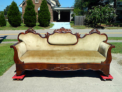 Fantastic Mahogany Empire Sofa circa 1850