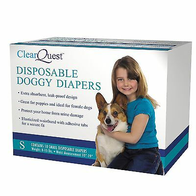ClearQuest Disposable Doggy Diapers Small