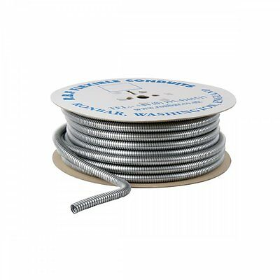 Flexible Steel Conduit PVC Covered or Bare 16mm to 25mm Flexible Steel Conduit