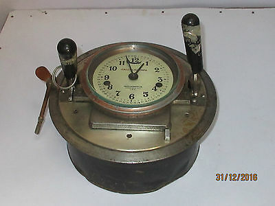 Antique / Vintage Clock Driver Calculagraph Nj-Usa Very Good