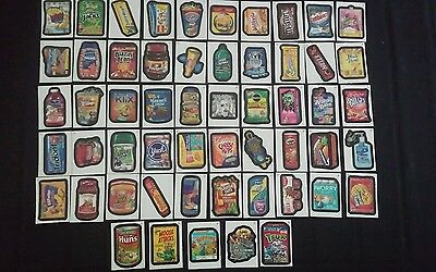 Wacky Packages Ans 9 Complete Set Of 55 Stickers