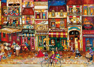 Ravensburger Streets Of France 1000pc Jigsaw Puzzle RB19408-7
