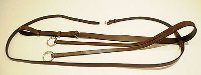 BEVAL running martingale brown leather full horse