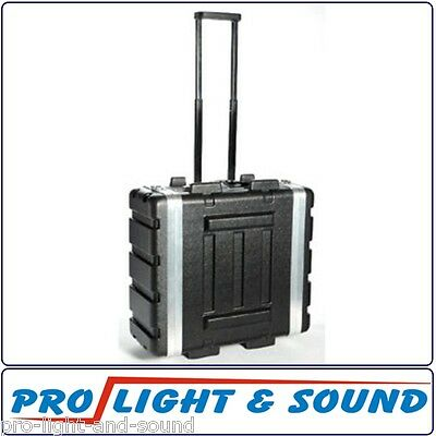 4 RU Unit Rack Road Case with Trolley + Handle, 3RU Internal FAST SHIP FROM SYD