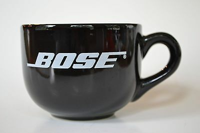 Large Black BOSE mug (cup) by M Ware: coffee, tea, soup