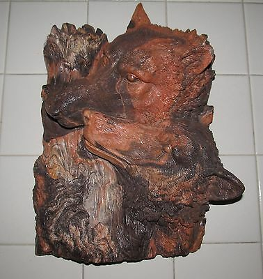 Wolf Wall Plaque 3 Dimensional Wolves Wall Hanging Muti Color Molded Marble...