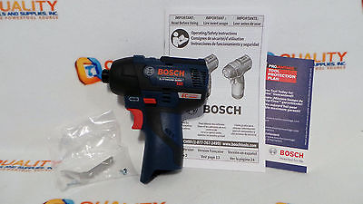 "New Bosch PS42 12V Max Li-Ion EC Brushless 1/4"" Hex Impact Driver Bare Tool"