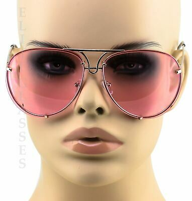 Oversized Designer Aviator Eyeglasses Gold Metal Frame Clear Lens Women Glasses