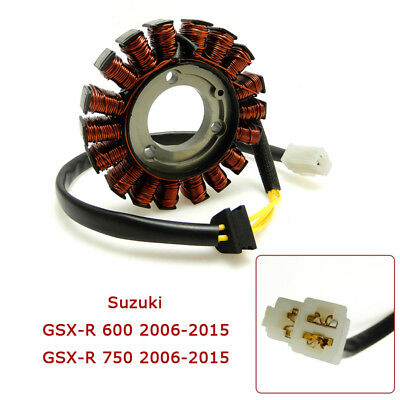 Motorcycle Generator Stator for SUZUKI GSXR 600 750 2006 2007 K6 New UK