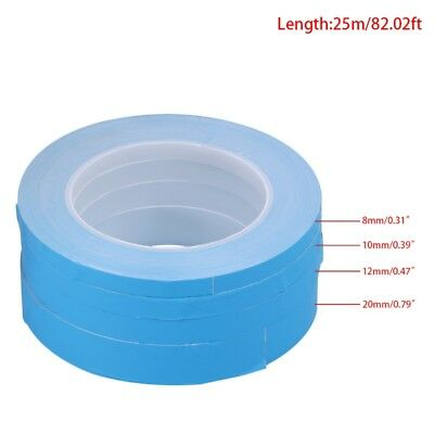 Double Side Adhesive Tape Transfer Heat Thermal Conduct For LED PCB Heatsink CPU
