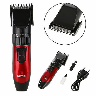 Men's Hair Clipper Razor Beard Trimmer Cutting Machine Kit Rechargeable Electric