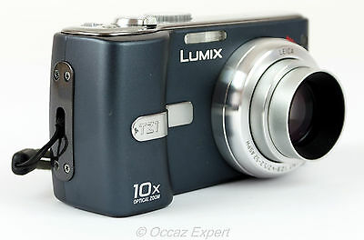 Appareil Photo Numerique Panasonic Lumix Dmc-Tz1 Noir Digital Camera