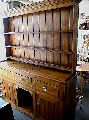 Outstanding 18th Century Pine Welsh Dresser
