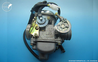 KF Brand Carb Carburetor PD24J Chinese GY6 125 150 1P52QMI 1P57QMJ scooter moped