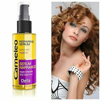 Delia Cameleo Repairing Strengthens Serum For Curly Hair With Argan Oil 55 ml