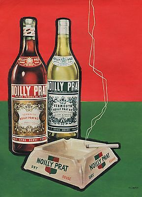 Publicite Noilly Prat   Alcool  Alcohol   Ad  1957 /  1F