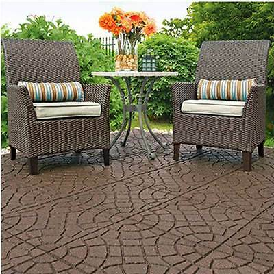 Recycled Rubber Pavers - Bella Rocca - Walkway Path Paving Landscaping - SINGLE
