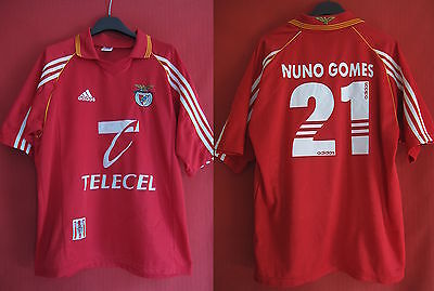 Maillot Benfica Lisbonne Adidas Domicile Nuno Gomes n° 21 - M
