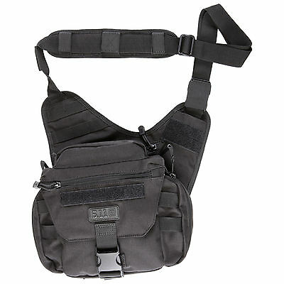 5.11 Tactical Push Pack Unisex Bag Messenger - Black One Size