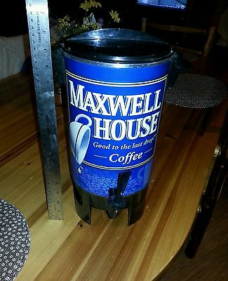 Maxwell House 30 Cup Coffee Pot Maker Percolator West Bend Vintage
