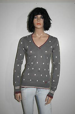 Conte Of Florence Maglione Jumper Cotton Sweater Pullover Donna Tg.s Casual H887