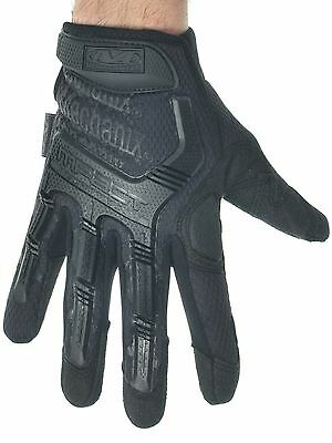 Mechanix Black M-Pact Mechanic Gloves