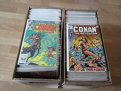 Marvel's CONAN THE BARBARIAN #1 to #257 , 239,264,265,273 GIANT Lot of Issues