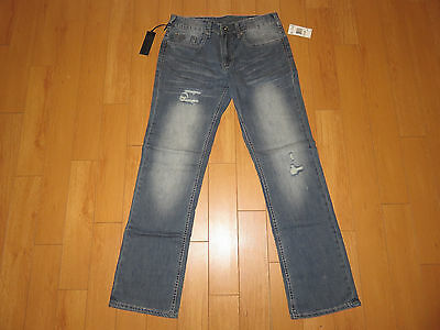 NWT Men's Buffalo David Bitton Driven-X Straight Stretch Jeans (Retail $99.00)