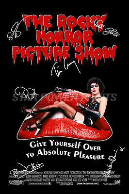 The Rocky Horror Picture Show Signed Photo Print Poster  12 X 8 Inch - Tim Curry