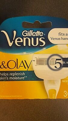 Gillette Venus & Olay Replacement Razor Cartridges 3pc Pack