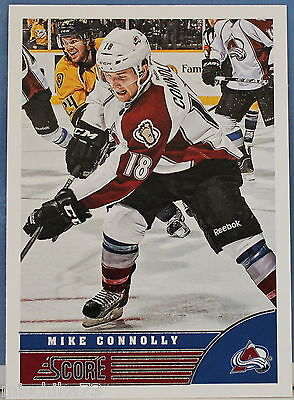 Panini Ice hockey - NHL Score 2013-2014 Map No. 125 Mike Connolly