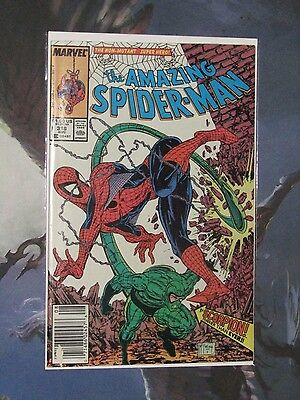 Amazing Spider-Man 318,319,320,323,324 ~ Copper Age 5 Book Lot Todd McFarlane!!!