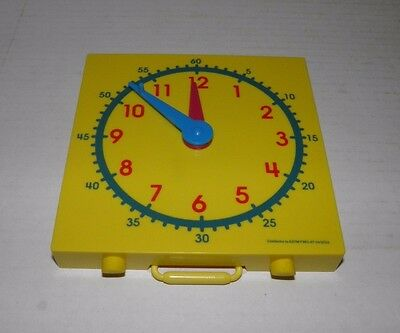 Student Clock For Learning To Tell Time