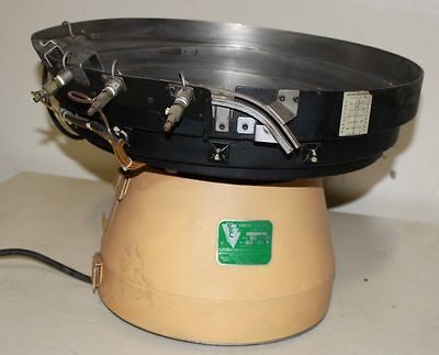 AUTOMATION DEVICES INC. Model 10 VIBRATROY PARTS FEEDER WITH CONTROLLER