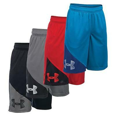 Boys Under Armour YOUTH TECH PROTOTYPE SHORTS Loose Fit Shorts NEW