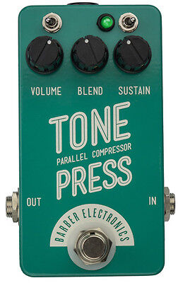 Barber Electronics Tone Press Compact Edition Parallel Compressor Effects P