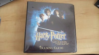 Harry Potter and the Chamber of Secrets Trading Cards Set Complete 1-90 R1-R9 ++