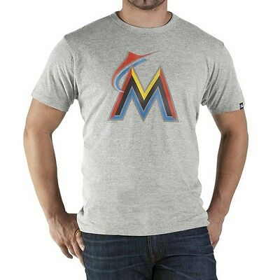 Genuine 47 Brand Miami Marlins Derby Men's T-shirt