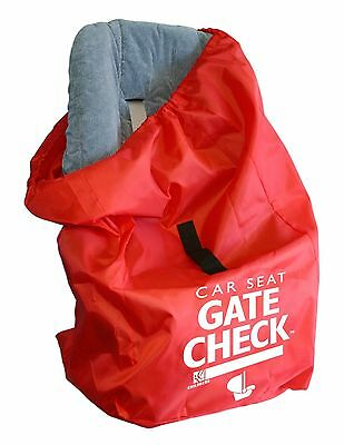J. L. Childress Gate Check Air Travel Bag for Car Seats Red
