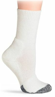 Thorlo Men's Socks Tennis Crew Sock White/Black 15