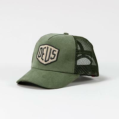 Deus Ex Machina Foxtrot Shield Trucker Olive Green One Size Fits Most